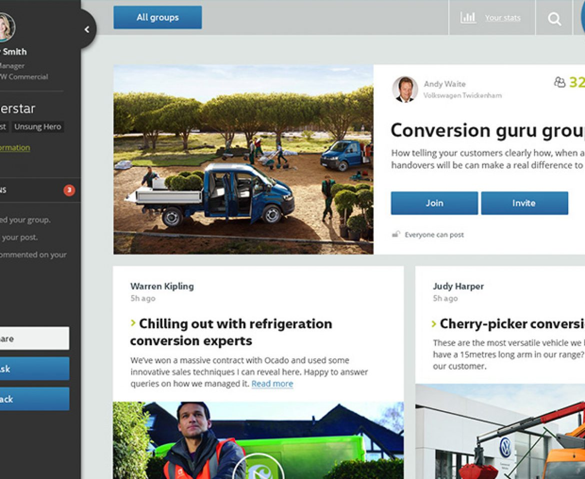 Design for new VW Community Portal