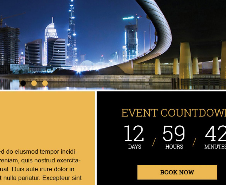 Prestigious conference website gets make over